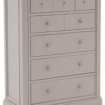 Isabel 5+3 drawers taupe