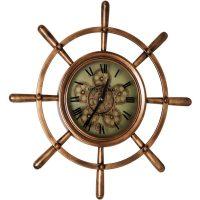 Ships Wheel Wall clock