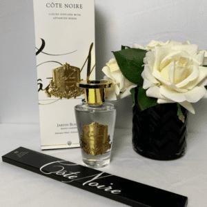 'White Garden' Reed Diffuser - Cote Noire Glass Bottle -150ml