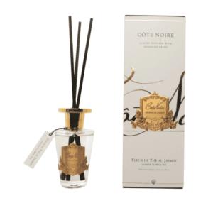 Cote Noire Glass Reed Diffuser - Jasmine Flower Tea - 150ml