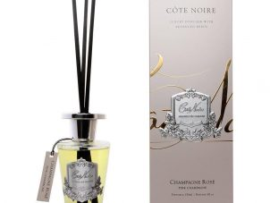Champagne Rose - Cote Noire Glass Reed Diffuser - 150ml