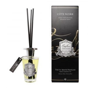 French Morning Tea - Cote Noire Glass Reed Diffuser - 150ml