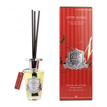 Cognac & Tobacco - Cote Noire Glass Reed Diffuser -150ml