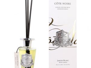 Cote Noire Glass Reed Diffuser - White Garden - 150ml
