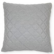 Scatter Cushion - Quilted Diamond Design - Outdoor All Weather - Lead Chine