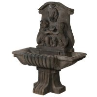Water Feature - Garden Water Fountain - French Cherubs - Stone
