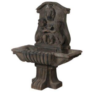 Water Feature - Garden Water Fountain - French Cherubs - Stone