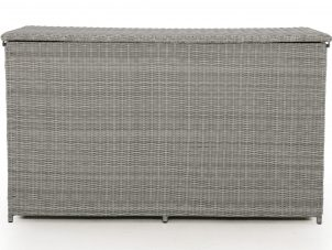 Garden Storage Box - Large Storage Box - Light Grey Flatweave