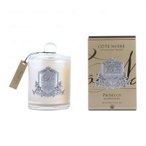 Prosecco - Cote Noire Glass Scented Candle -100 Hours