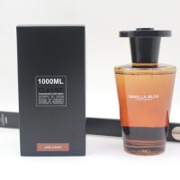 Vanilla Musk Fragrance - Extra Large Glass Bottle Reed Diffuser -1000ml