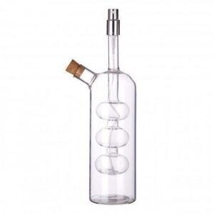 Oil & Vinegar Designer Bottle - Built In Vinegar Sprayer