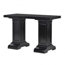 Small Console Table - Column Leg Design - Dorchester Black Range