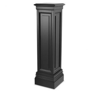 Plinth/Column - Large Square Column - Dorchester Black Range