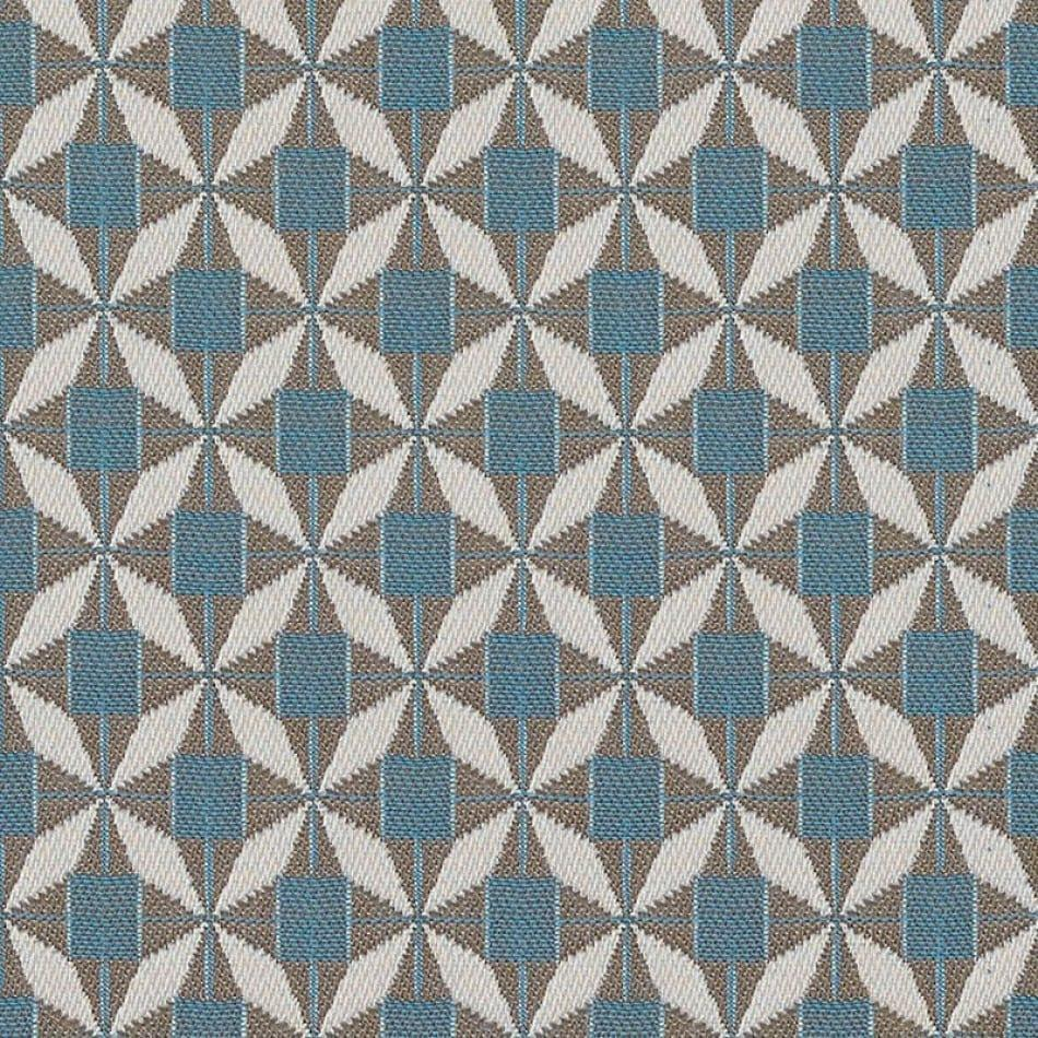 Scatter Cushion - Mosaic Blue All Weather Fabric