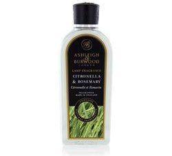 Citronella & Rosemary - Premium Lamp Fragrance Burning Oil - 500ml