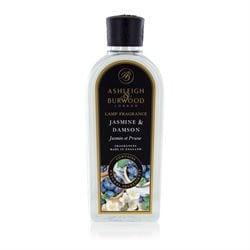 Jasmine & Damson - Premium Lamp Fragrance Burning Oil - 500ml
