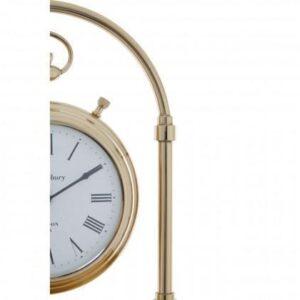 Mantel Clock - Hampstead Clock Company -Brass Mantel Clock - Roman Numerals