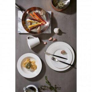 Cutlery Set - 16 Piece Highly Polished Chrome & Black Cutlery Set