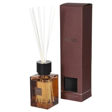 'Ylang Ylang' Scented Reed Diffuser - Medium Amber Glass Bottle - 300ml