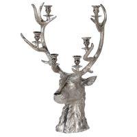 Stag Candle Holder - Christmas Reindeer 6 Candle Holder