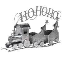 Christmas Train - Silver Ho Ho Ho 2 Carriage Train