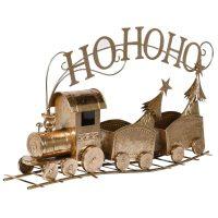 Christmas Train - Gold Ho Ho Ho 2 Carriage Train