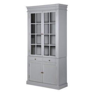 Glazed Bookcase - 4 Door 2 Drawer Bookcase - Ascot Furniture Range