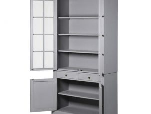Glazed Bookcase - 4 Door 2 Drawer Bookcase - Ascot Furniture Range