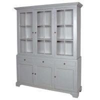 Glazed Bookcase - 6 Door 3 Drawer Bookcase - Ascot Furniture Range