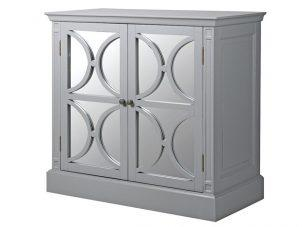 Sideboard - 2 Door - Rear Mirrored Glass Design - Ascot Furniture Range