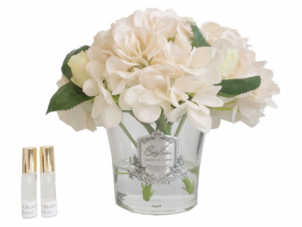 Hydrangea's & Rose Buds - Luxury Cote Noire Display - Champagne