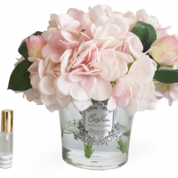 Hydrangea's & Rose Buds - Luxury Cote Noire Display- Pink Blush