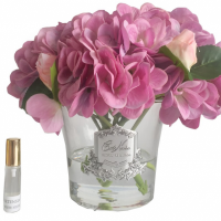 Hydrangea's & Rose Buds - Luxury Cote Noire Display - Mauve
