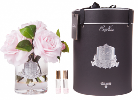 Tea Rose - Luxury Tea Rose Cote Noire Display - French Pink