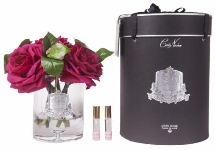 Tea Rose - Luxury Cote Noire Rose Fragrance Display - Carmine Rose