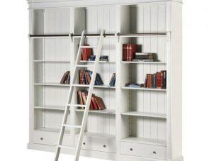 Bookcase Large - 3 Drawers - 4 Shelves - Ascot Furniture Range