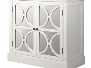 Sideboard - 2 Door - Rear Mirrored Glass Design - Ascot Furniture Range