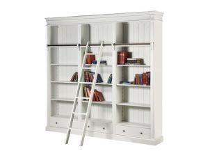 Bookcase Large - 3 Drawers - 4 Shelves - Ascot Furniture Range
