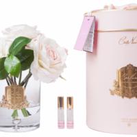 Tea Rose - Luxury 12 Tea Rose Cote Noire Display - Pink