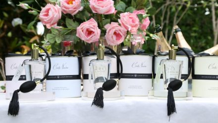 Tea Rose - Luxury Cote Noire Rose Fragrance Display - Carmine Rose