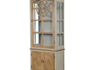 Glazed Display Cabinet - Glass Fronted - 2 Door - Wiltshire Furniture Range