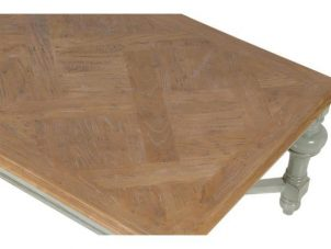 Coffee Table - 4 Leg Oblong Coffee Table - Wiltshire Furniture Range