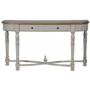 Console Table - 1 Drawer Carved Hall Table - Wiltshire Furniture Range