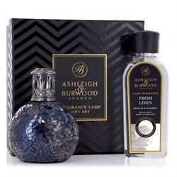 Fragrance Lamp - Premium Boxed Gift Set - Neptune - Fresh Linen Fragrance
