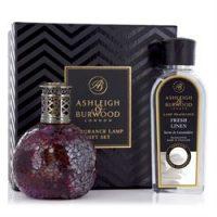 Fragrance Lamp - Premium Boxed Gift Set - Rose Bud - Fresh Linen