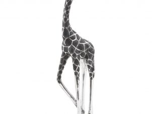 Giraffe Sculpture - Standing Giraffe - Head Looking Back