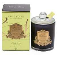 'Summer Pear' Scented Candle - Cote Noire Glass Candle -100 Hours
