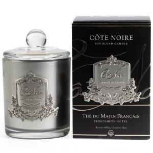 'French Morning Tea' Scented Candle - Cote Noire Design -100 Hours