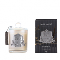 'Private Club Gold' Scented Candle - Cote Noire Glass Scented Candle -100 Hours