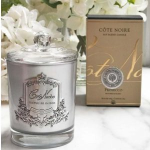 'Prosecco' Scented Candle - Cote Noire Glass Design -100 Burning Hours